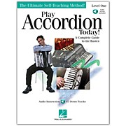 Hal Leonard Play Accordion Today! Level One Book/CD