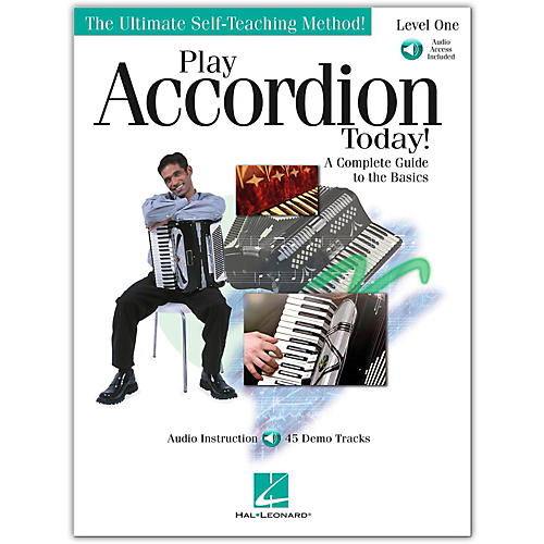 Hal Leonard Play Accordion Today! Level One (Book/Online Audio)