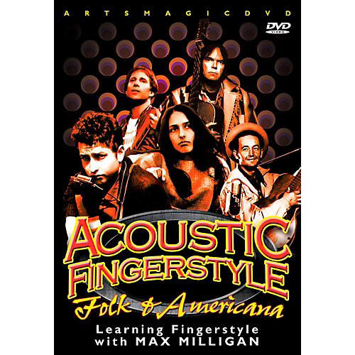 WEA Play Acoustic Fingerstyle - Folk & Americana