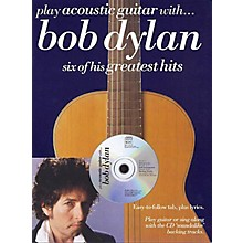 Music Sales Play Acoustic Guitar with ... Bob Dylan Music Sales America Series Softcover with CD by Bob Dylan