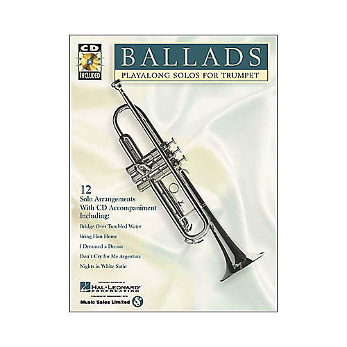 Hal Leonard Play-Along Ballads Book with CD Trombone-thumbnail