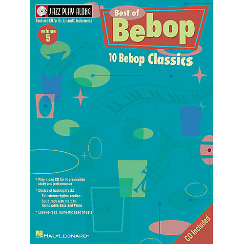 Hal Leonard Play Along Best Of BeBop (Book/CD)