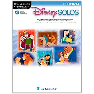Hal Leonard Play-Along Disney Solos Book with CD�French Horn