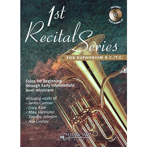 Hal Leonard Play-Along First Recital Series Book with CD Euphonium-thumbnail
