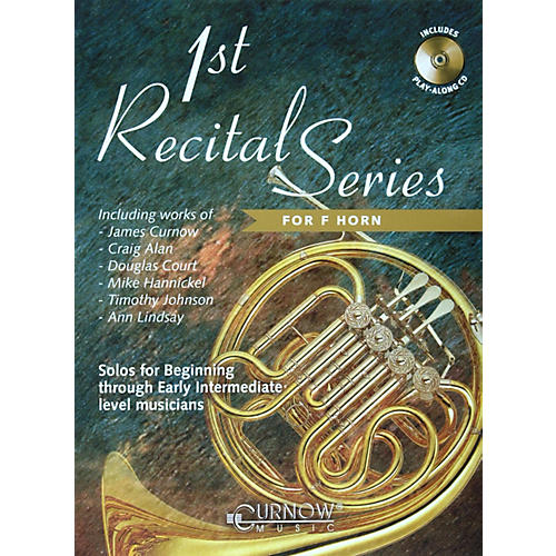 Hal Leonard Play-Along First Recital Series Book with CD-thumbnail