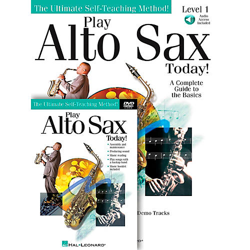 Hal Leonard Play Alto Sax Today! Beginner's Pack - Includes Book/CD/DVD