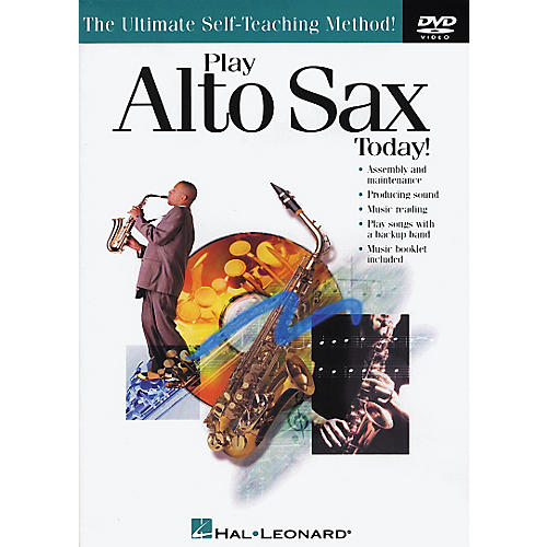 Hal Leonard Play Alto Sax Today! DVD