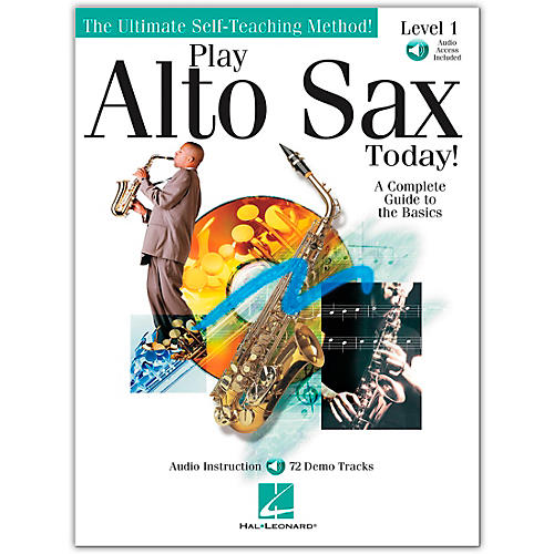 Hal Leonard Play Alto Sax Today! Level 1 (Book/Online Audio)-thumbnail