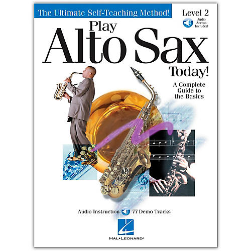 Hal Leonard Play Alto Sax Today! Level 2 (Book/Online Audio)-thumbnail