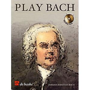 De Haske Music Play Bach 8 Famous Works De Haske Play-Along Book Series B...