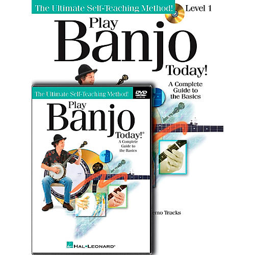 Hal Leonard Play Banjo Today! Beginner's Pack - Includes Book/CD/DVD-thumbnail