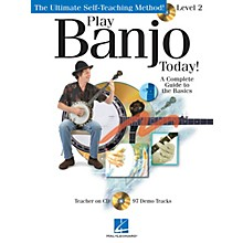 Hal Leonard Play Banjo Today! (Level 2) Play Today Instructional Series Series Softcover with CD