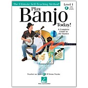 Hal Leonard Play Banjo Today! Level One - A Complete Guide To the Basics (Book/CD)