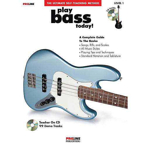 Proline Play Bass Today! (Book/CD)-thumbnail
