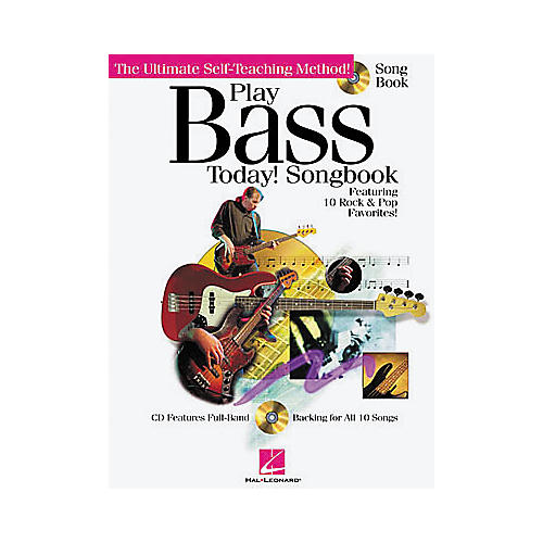 Hal Leonard Play Bass Today! Songbook-thumbnail