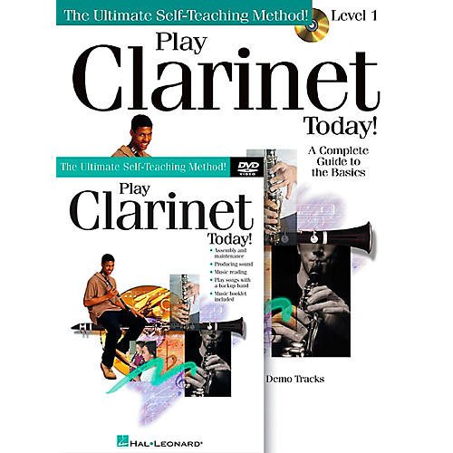 Hal Leonard Play Clarinet Today!  Beginner's Pack - Includes Book/CD/DVD