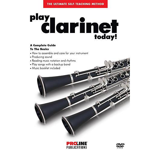 Proline Play Clarinet Today DVD-thumbnail