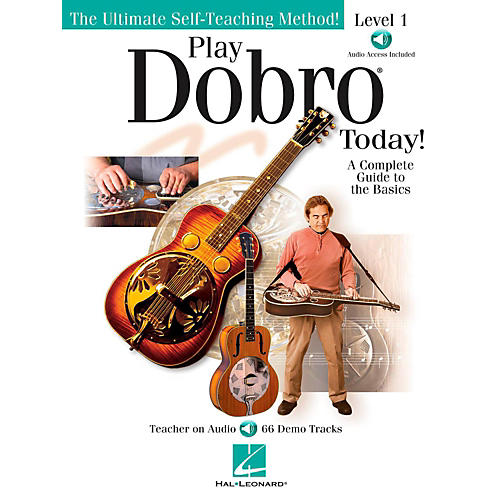 Hal Leonard Play Dobro Today!  Level One (Book/Audio Online)-thumbnail