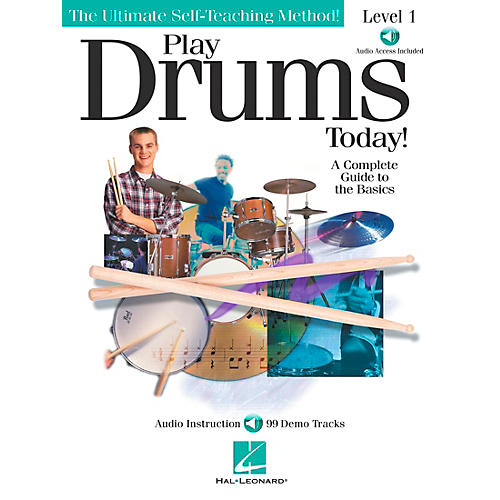 Hal Leonard Play Drums Today! - Level 1 Book/CD-thumbnail