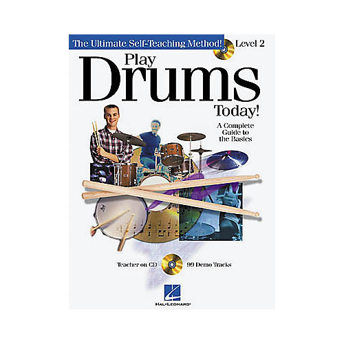 Hal Leonard Play Drums Today! - Level 2 (Book/CD)-thumbnail