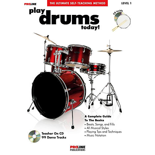 Proline Play Drums Today! (Book/CD)-thumbnail