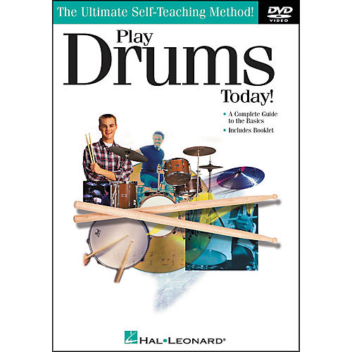 Hal Leonard Play Drums Today! DVD-thumbnail