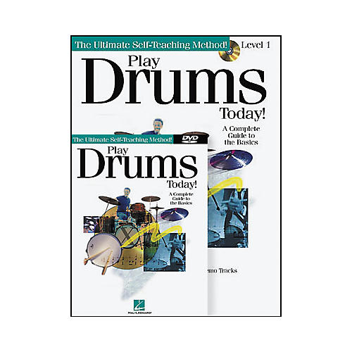 Hal Leonard Play Drums Today! Level One (Book/CD/DVD)