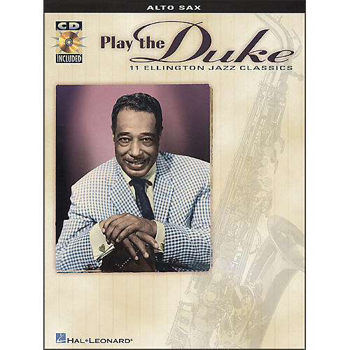 Hal Leonard Play Duke (11 Ellington Jazz Classics) for Alto Sax Book/CD Pkg-thumbnail