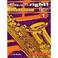 De Haske Music Play 'Em Right Latin - Vol. 1 (Vol. 1 - Eb/Bb Sax) De Haske Play-Along Book Series thumbnail