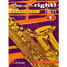 De Haske Music Play 'Em Right Latin - Vol. 1 (Vol. 1 - Eb/Bb Sax) De Haske Play-Along Book Series