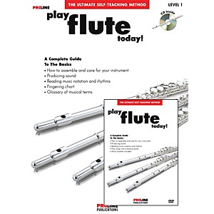 Proline Play Flute Today Beginners Pack Book/CD/DVD by Proline