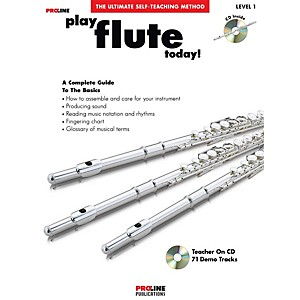 Proline Play Flute Today Book/CD by Proline
