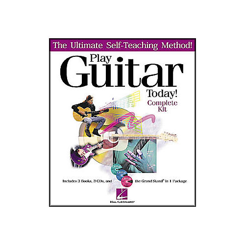 Hal Leonard Play Guitar Today! - Complete Kit (Book/CD)-thumbnail