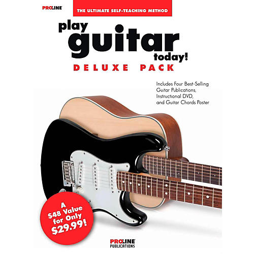 Proline Play Guitar Today Deluxe Pack - Includes 4 Books/CD/DVD - Proline Series