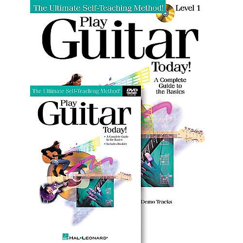 Hal Leonard Play Guitar Today! Level One (Book/CD/DVD)-thumbnail