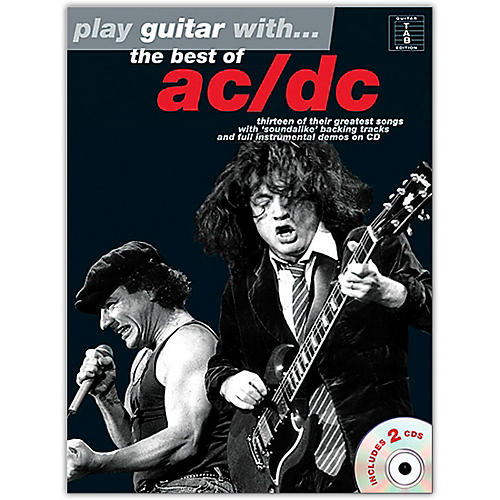 Music Sales Play Guitar With The Best Of AC/DC (Book & 2 CD's)