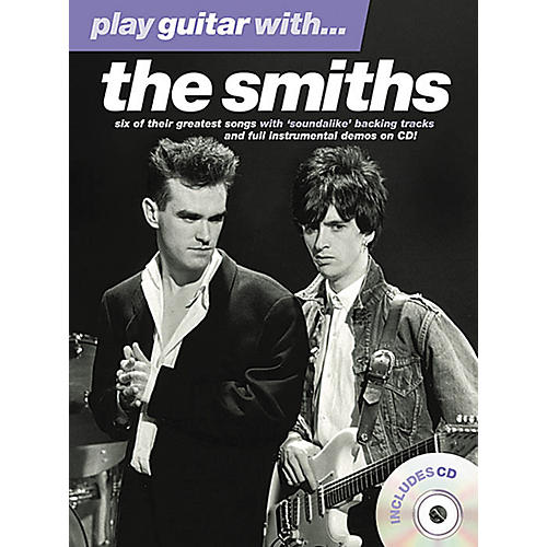 Music Sales Play Guitar With The Smiths Book/CD