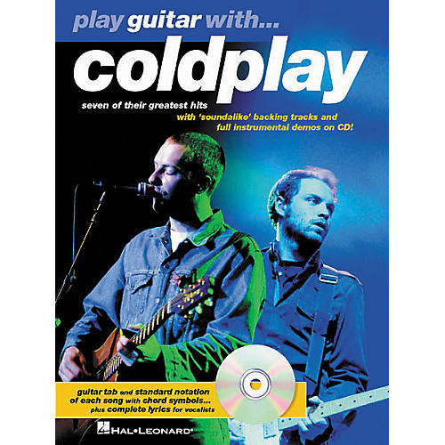 Hal Leonard Play Guitar with Coldplay Guitar Tab Book-thumbnail