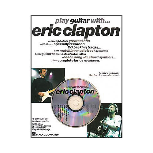 Hal Leonard Play Guitar with Eric Clapton (Book/CD)