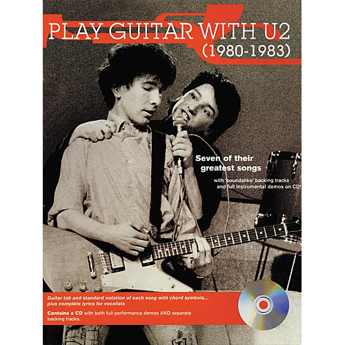 Hal Leonard Play Guitar with U2 (1980-1983) Book with CD-thumbnail