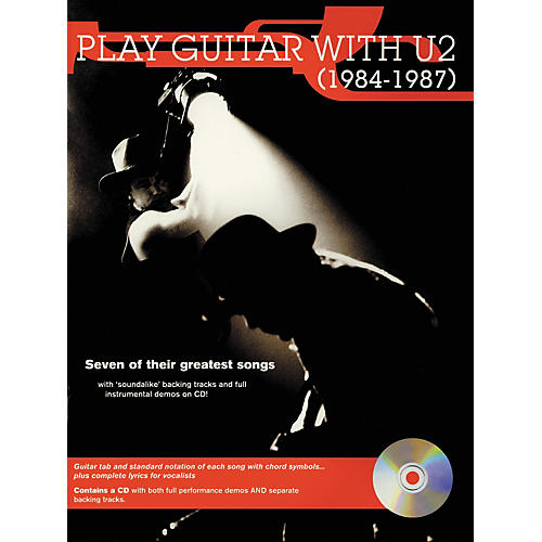 Hal Leonard Play Guitar with U2 (1984-1987) Book with CD-thumbnail