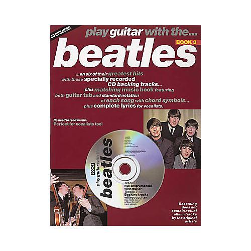 Hal Leonard Play Guitar with the Beatles (Book/CD)