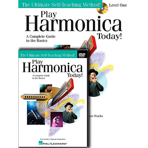 Hal Leonard Play Harmonica Today! Beginner's Pack - Includes Book/CD/DVD-thumbnail