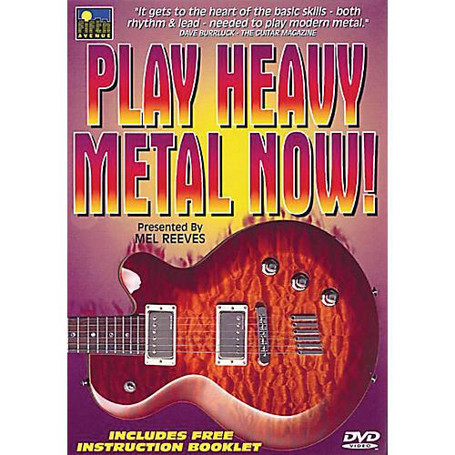 Music Sales Play Heavy Metal Now! Music Sales America Series DVD Written by Mel Reeves