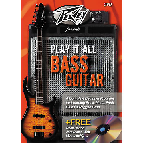 Hal Leonard Play It All Bass Guitar (DVD)