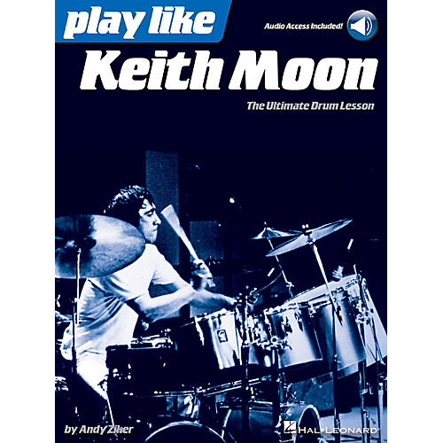 Hal Leonard Play Like Keith Moon - Book/Audio Online-thumbnail