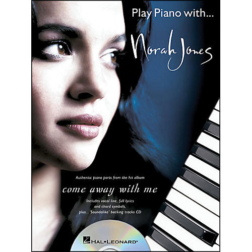 Hal Leonard Play Piano with... Norah Jones (Book/CD) arranged for piano, vocal, and guitar (P/V/G)