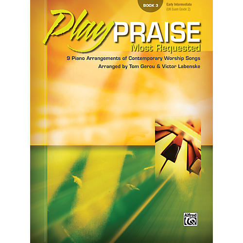 Alfred Play Praise Most Requested Book 3 Piano-thumbnail