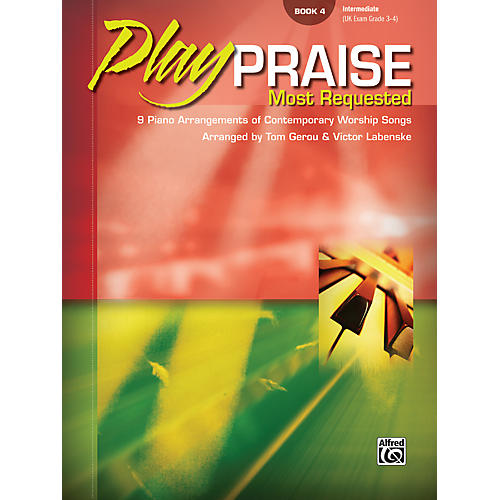 Alfred Play Praise Most Requested Book 4 Piano-thumbnail