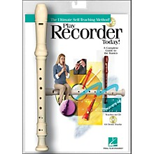 Hal Leonard Play Recorder Today! Book/CD with Recorder Instrument
